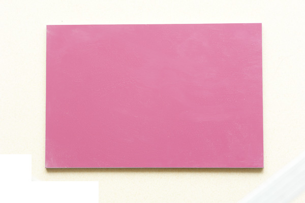 single color coating board